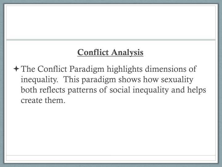Conflict Analysis