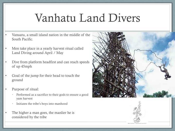 Vanhatu Land Divers
