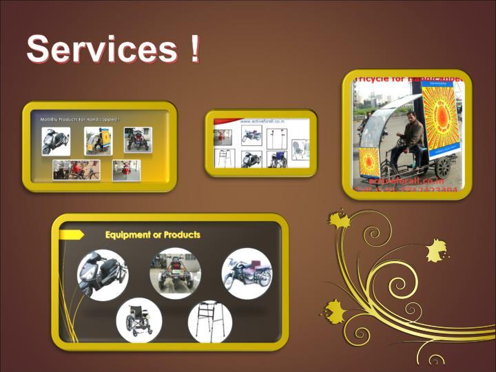 Services !
