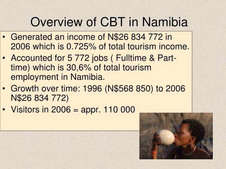 Overview of CBT in Namibia
