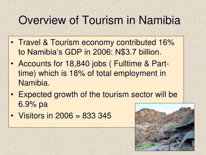 Overview of Tourism in Namibia