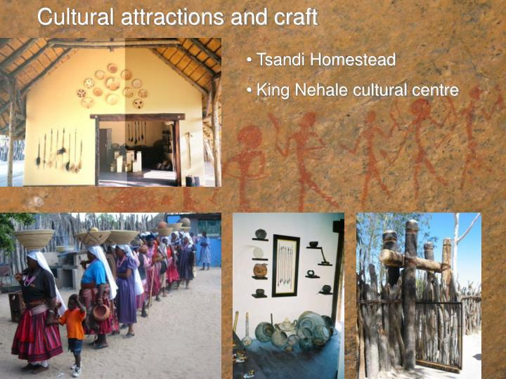 Cultural attractions and craft