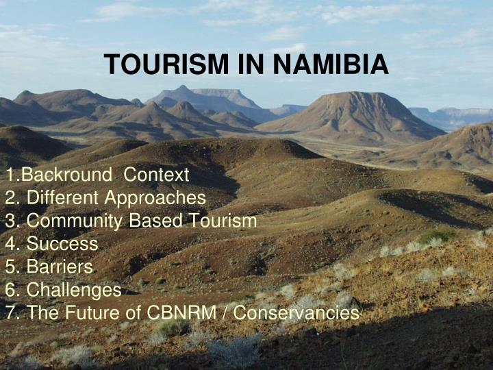 TOURISM IN NAMIBIA