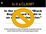 is it a claim2