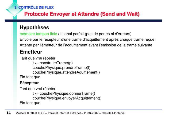 3. CONTRÔLE DE FLUX