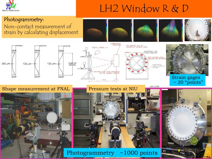LH2 Window R & D