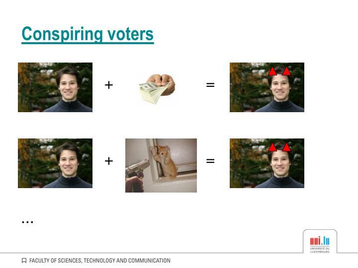 Conspiring voters
