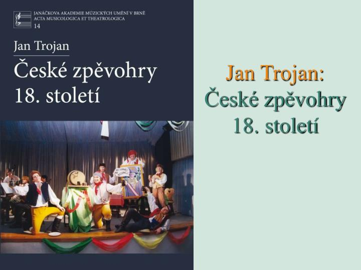 Jan Trojan: