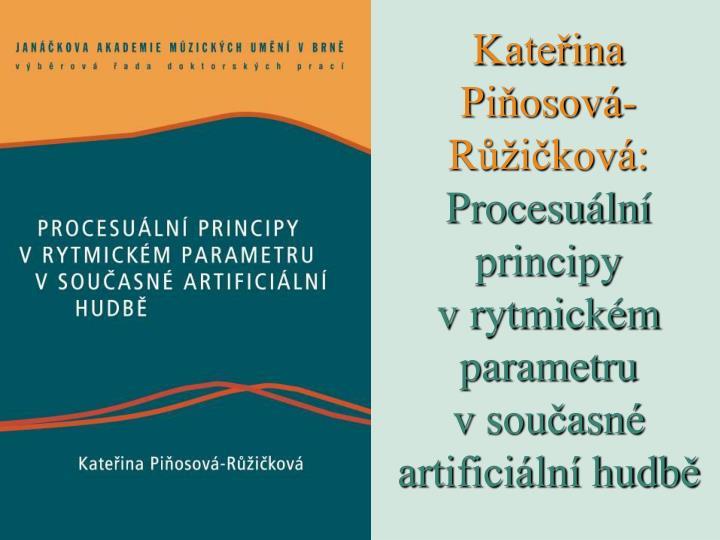Kateřina Piňosová-Růžičková: