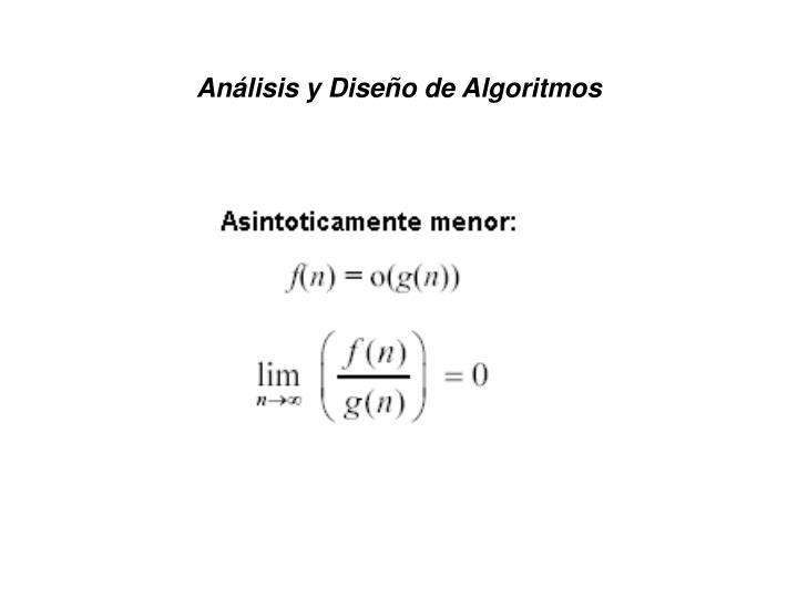 An lisis y dise o de algoritmos1