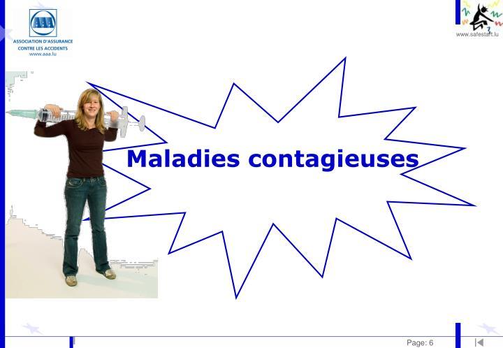 Maladies contagieuses