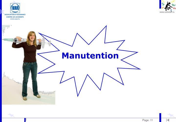 Manutention