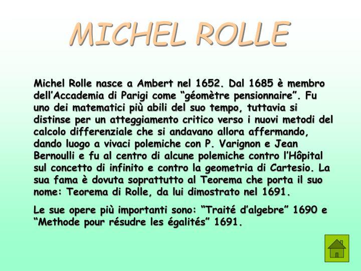 MICHEL ROLLE