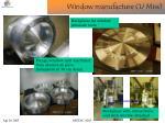 window manufacture u miss