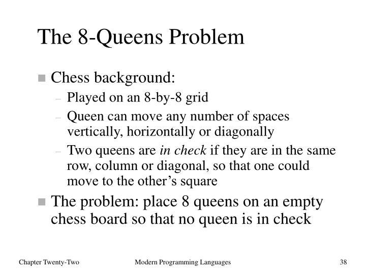 The 8-Queens Problem