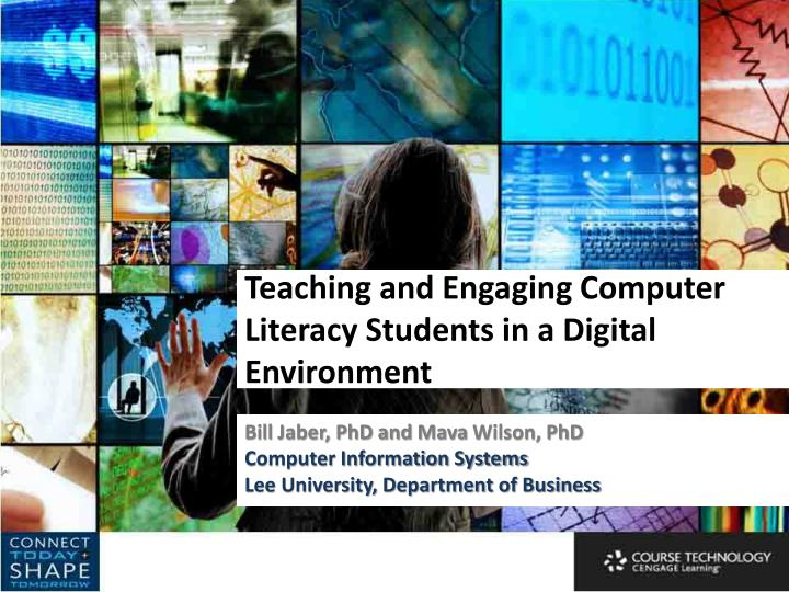 teaching and engaging computer literacy students in a digital environment n.