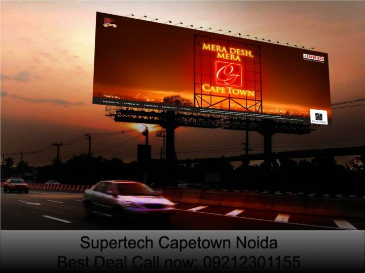 Supertech capetown noida best deal call now 09212301155