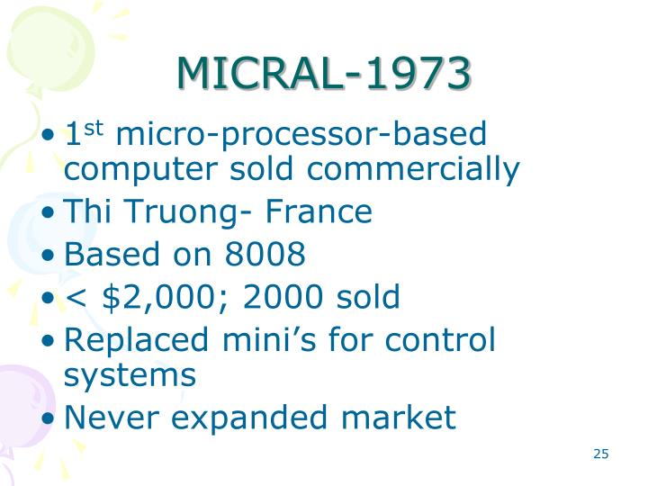 MICRAL-1973