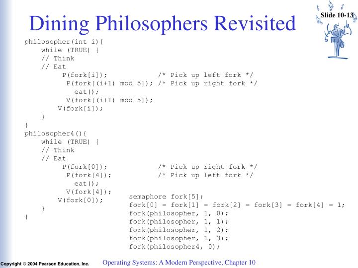 Dining Philosophers Revisited