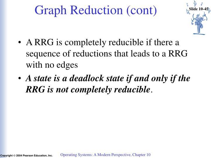 Graph Reduction (cont)