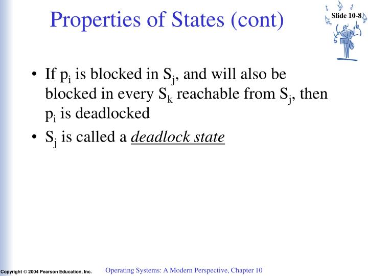 Properties of States (cont)