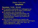 status fyns amt apopleksi1