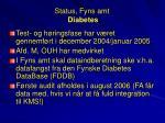 status fyns amt diabetes