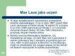 max laue jako ucze4
