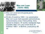 max von laue 1879 19603