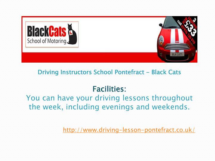 Driving Instructors School
