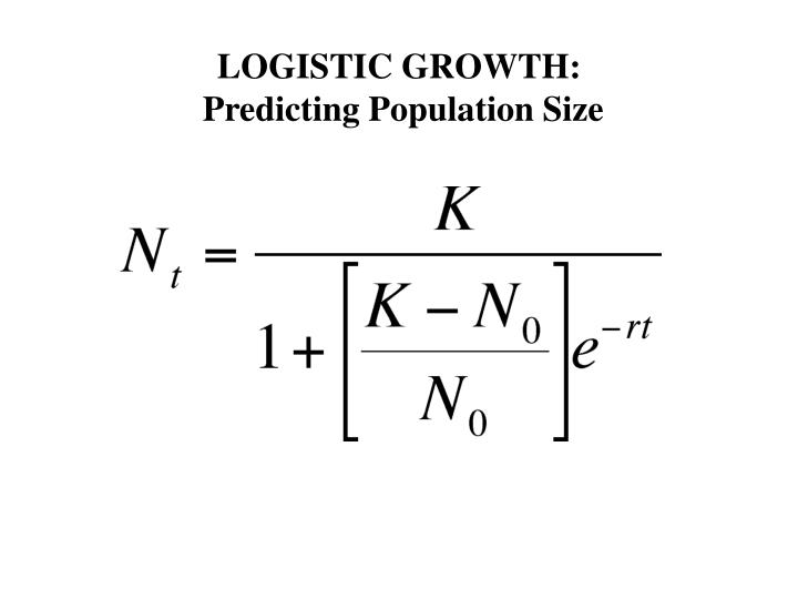 LOGISTIC GROWTH:
