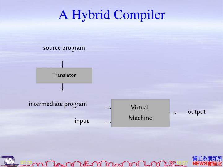 A Hybrid Compiler