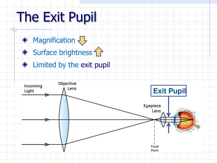 The Exit Pupil