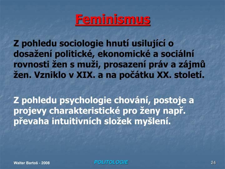 Feminismus
