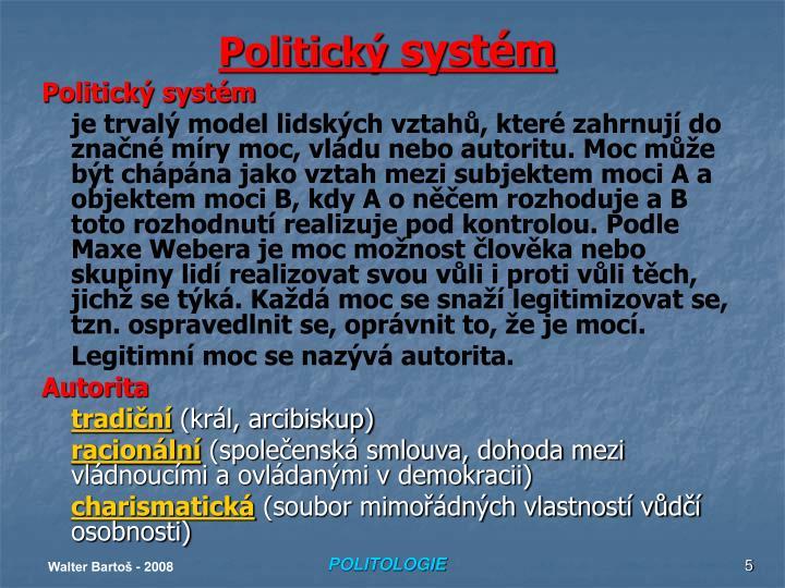 Politický