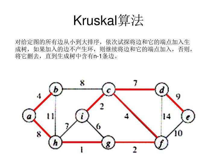 Kruskal