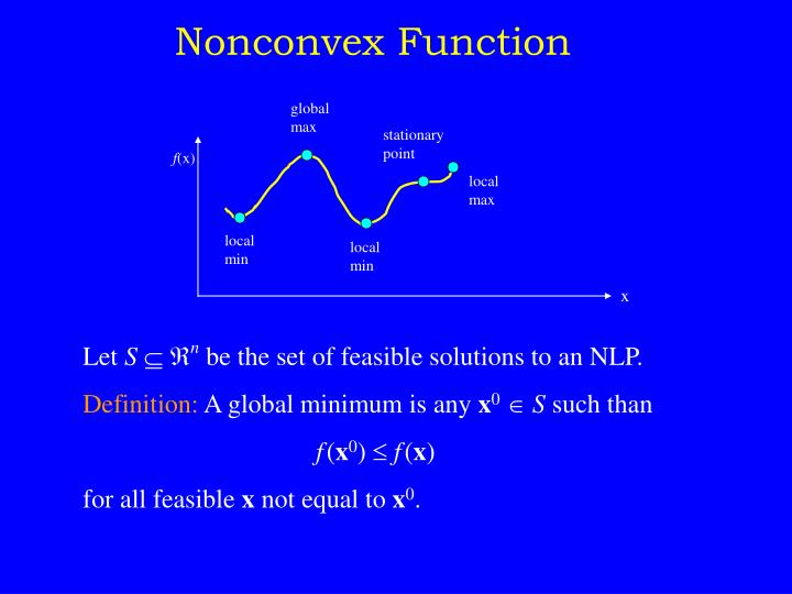 Nonconvex Function