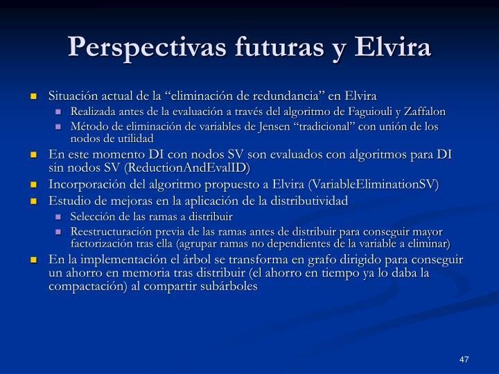 Perspectivas futuras y Elvira