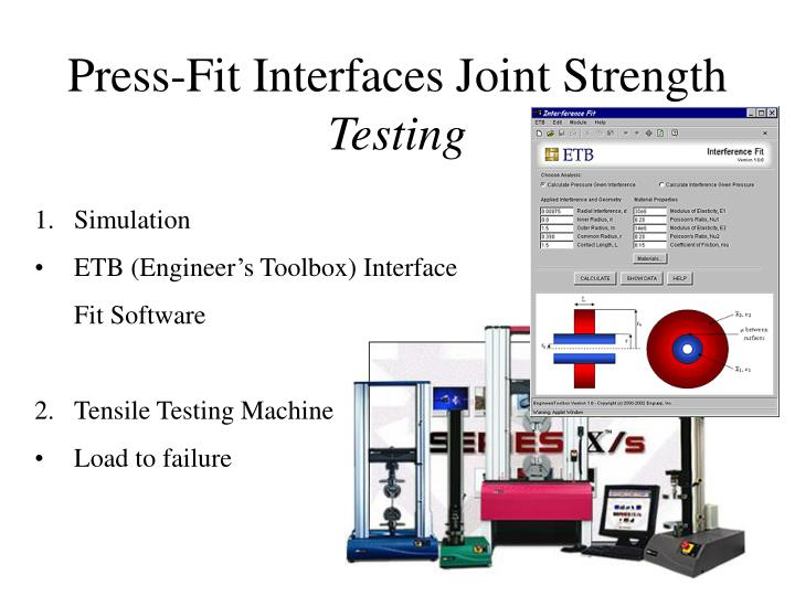 Press-Fit Interfaces Joint Strength