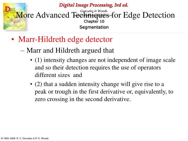 Marr-Hildreth edge detector