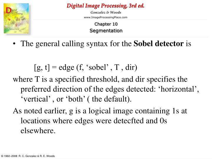 The general calling syntax for the