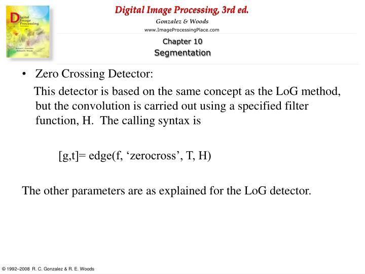 Zero Crossing Detector:
