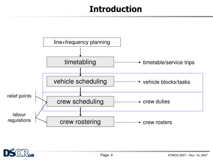 line+frequency planning