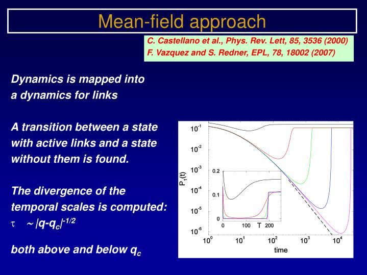 Mean-field approach