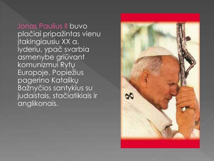 Jonas Paulius II