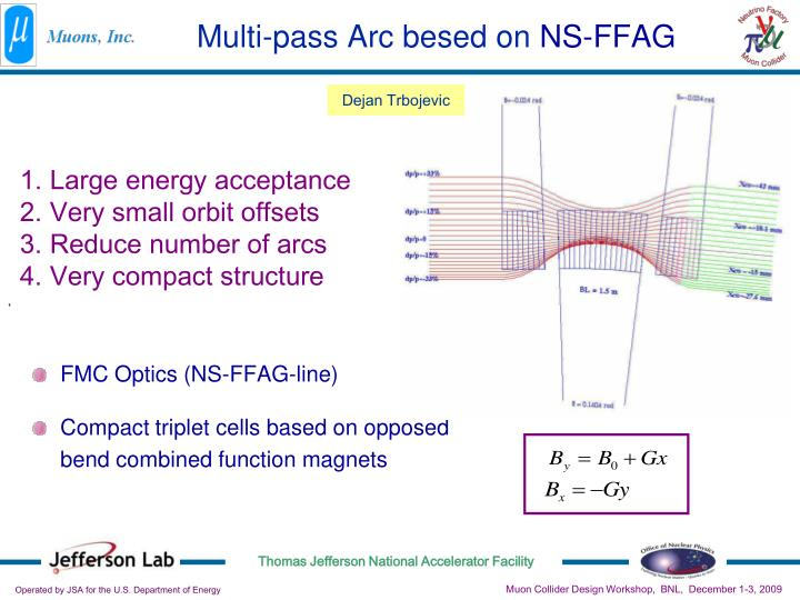 Multi-pass Arc besed on