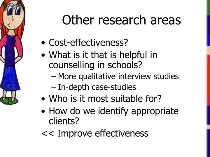 Other research areas
