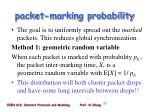 packet marking probability