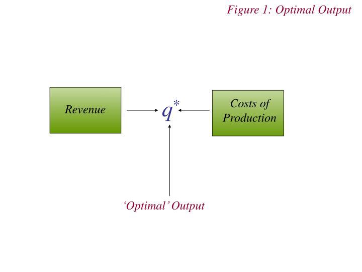 Figure 1: Optimal Output