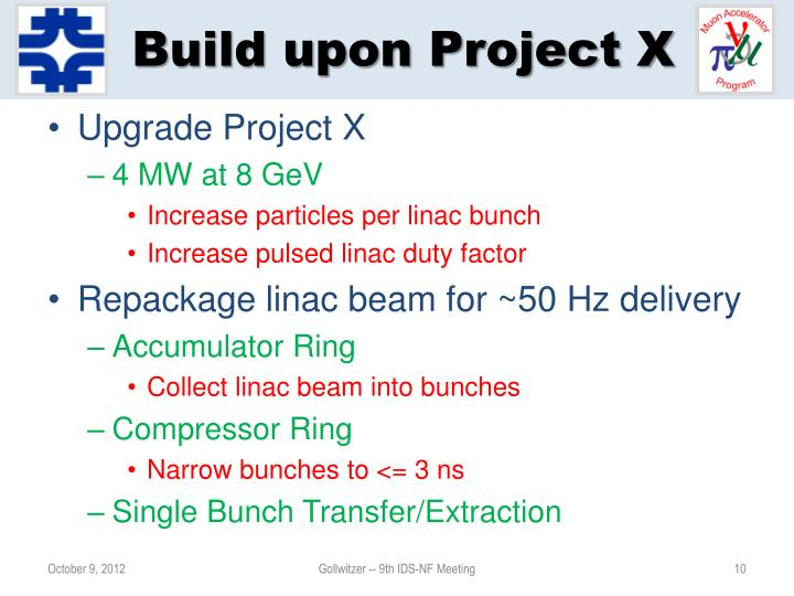 Build upon Project X